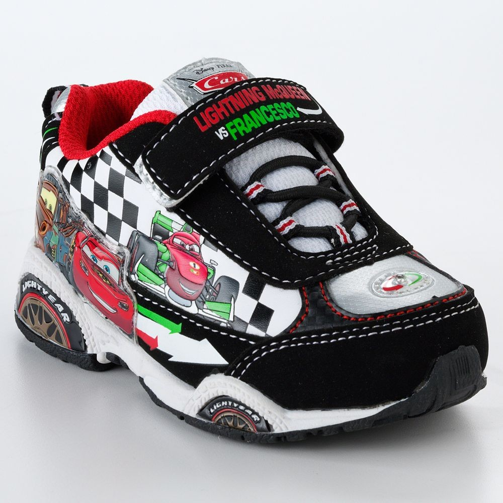 new disney story or cars 2 light up tennis shoes