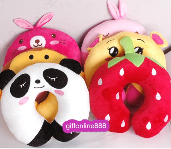 Cute Neck Pillows For Travel : Cute Cartoon U-shaped Pillow/Travel Pillow/U-car Pillow/U-shaped Neck Pillow eBay