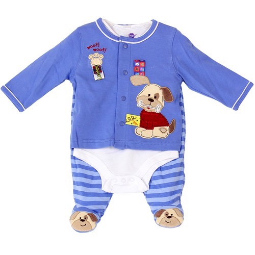 Quality Baby Gifts Uk : Bnwt baby boys pc blue white layette set by taggies