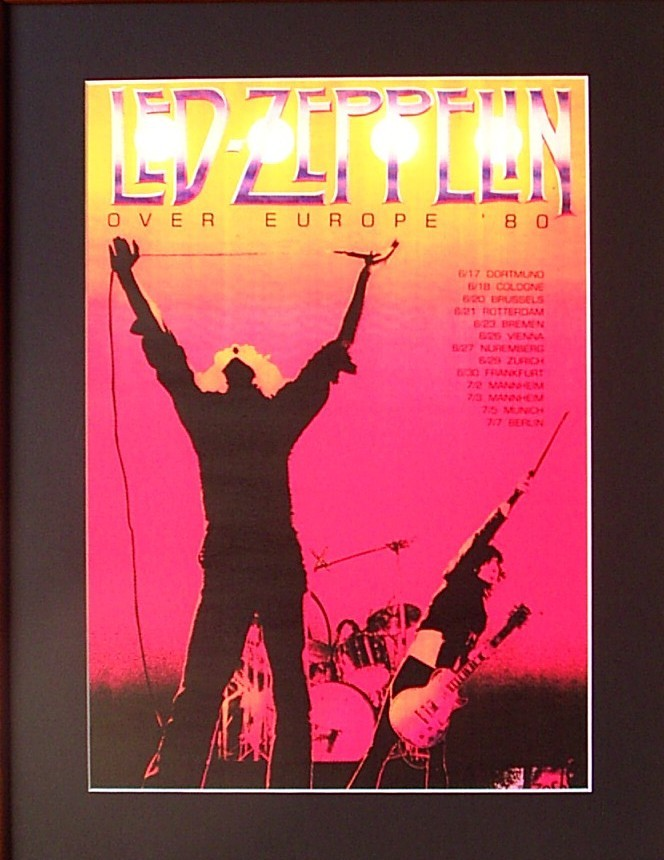 LED-ZEPPELIN-80-Tour-Poster-ready-for-framing