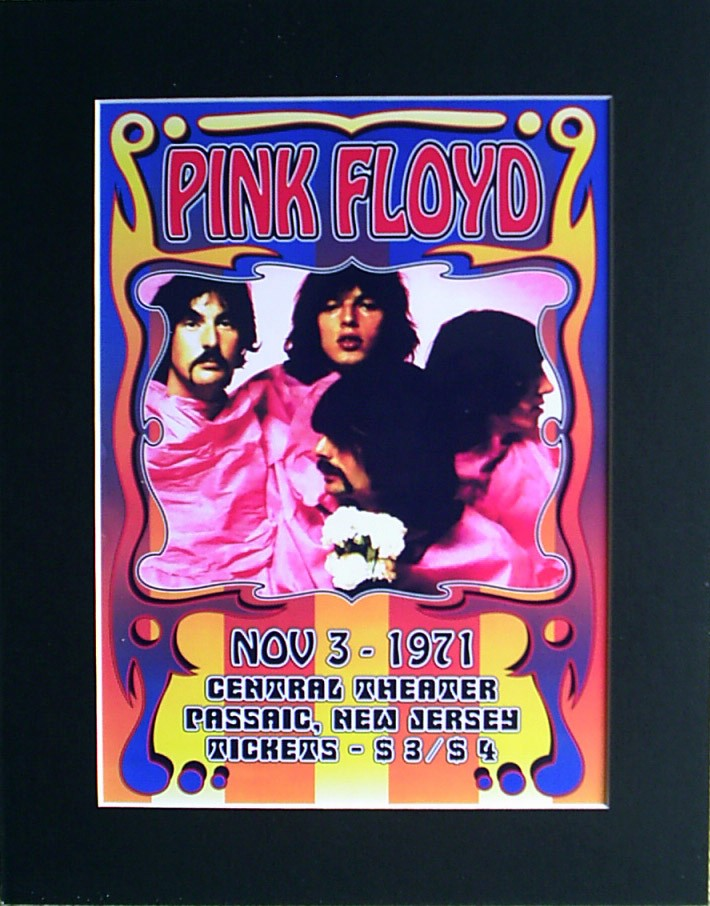 PINK-FLOYD-71-Tour-Poster-Ready-for-Framing