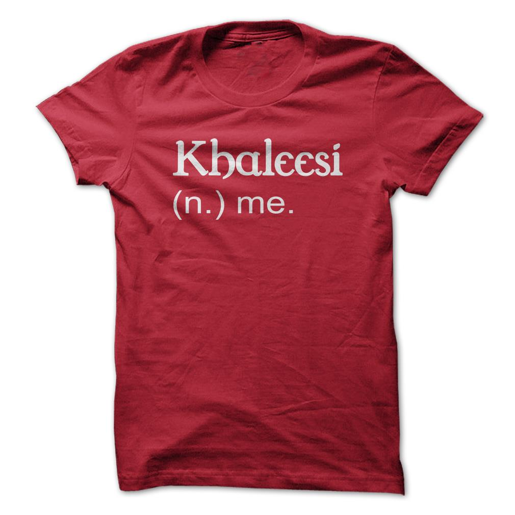 Khaleesi-Me-Game-Of-Thrones-Funny-T-Shirt-Short-Sleeve-100-Cotton-NEW