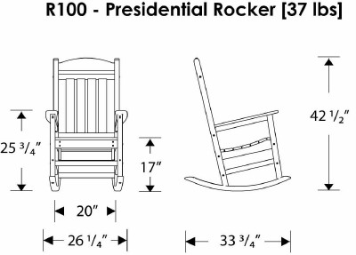 Plastic Lumber Adirondack Chair Plans moreover Emeco Herbar 30 Heritage Barstool Brushed Philippe Starck moreover Trex Rocking Chair besides Lolldesigns further 150982097481. on recycled plastic outdoor rocking chairs