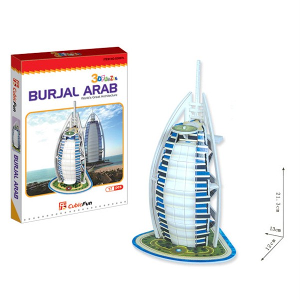 BURJ-AL-ARAB-3D-Worlds-Great-Architecture-Puzzle-Home-Decoration-XMAS