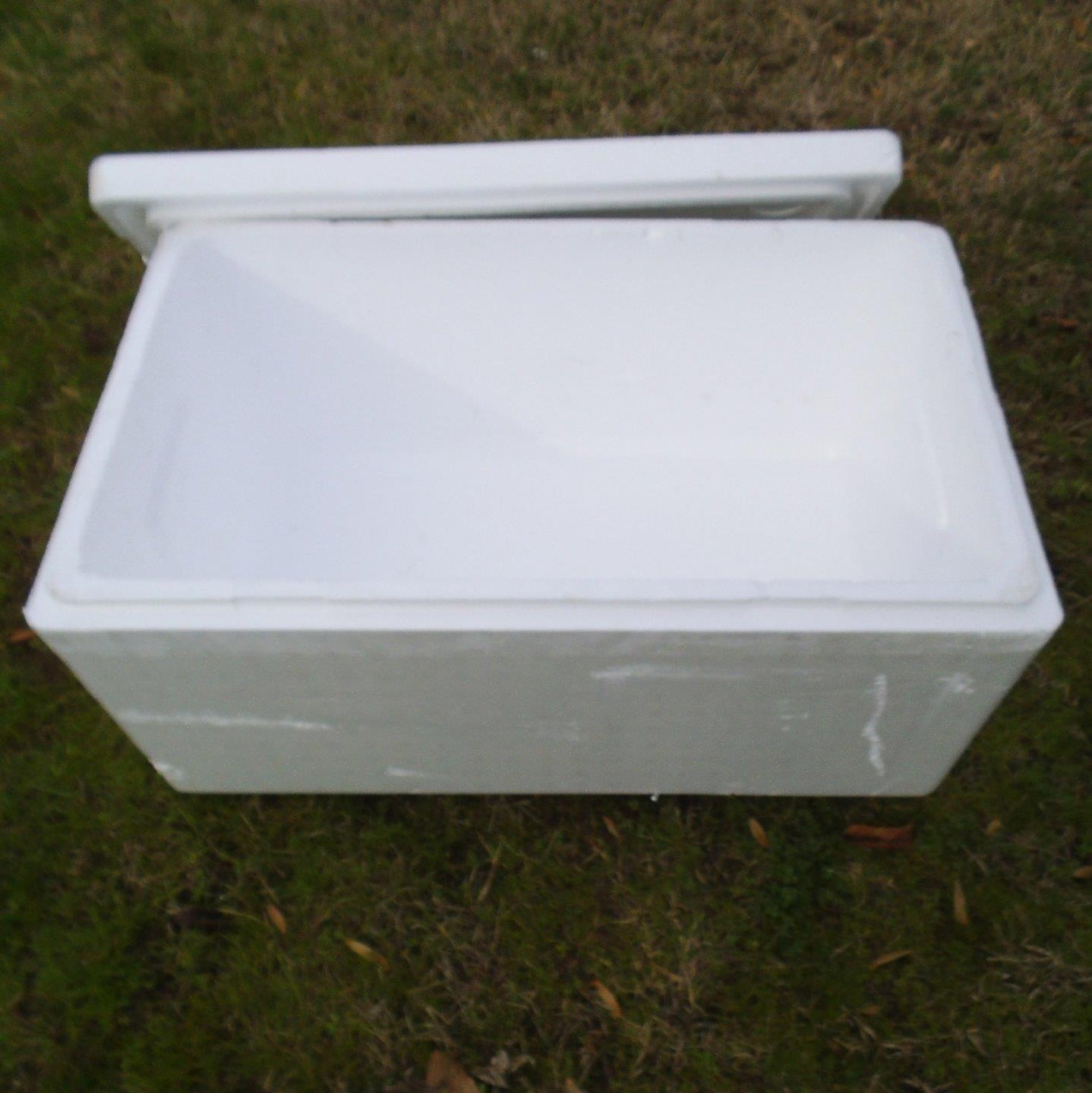 Large Styrofoam Coolers ~ Large styrofoam insulated shipping cooler container