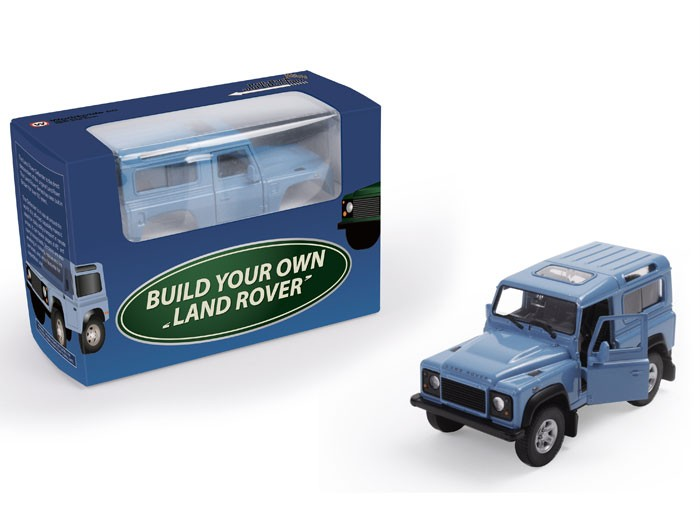 Official Build Your Own Land Rover Collectors Model Kit On Popscreen