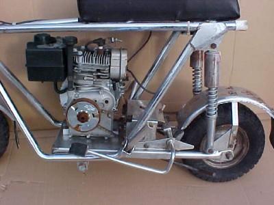 Vintage Sears Roper Bonantza Mini Bike Scooter Gas Motor