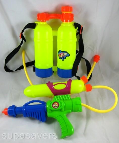 Super Soaker Water Guns With Backpack This Gun has the optio...