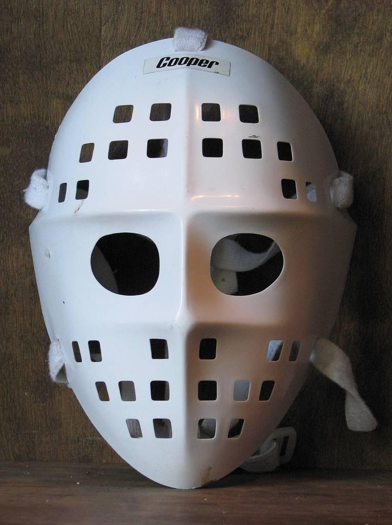 Vintage Cooper Sm6 Street Hockey Goalie Mask Ken Dryden