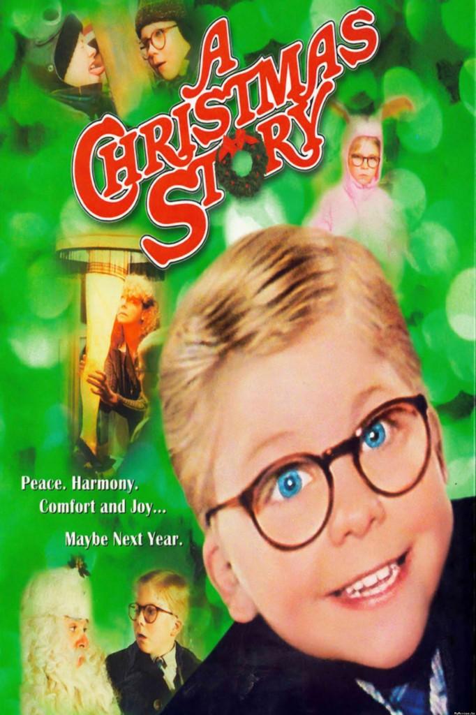 Christmas story 8x10 11x17 16x20 24x36 27x40 movie poster vintage a