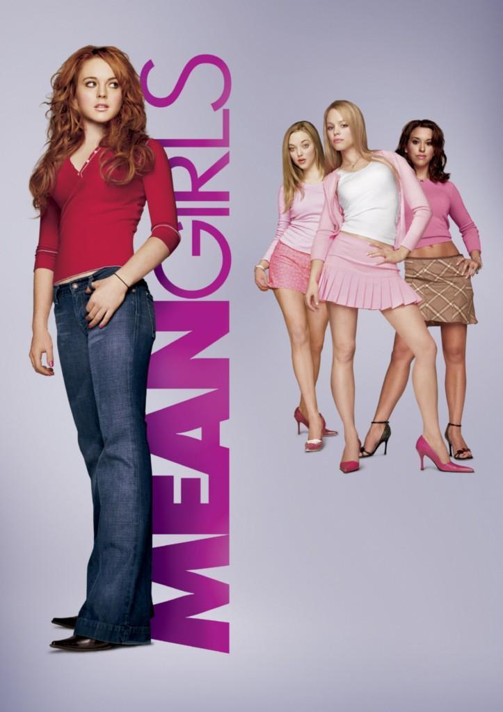 Mean-Girls-8x10-11x17-16x20-24x36-27x40-Movie-Poster-Vintage-Lohan-McAdams-A