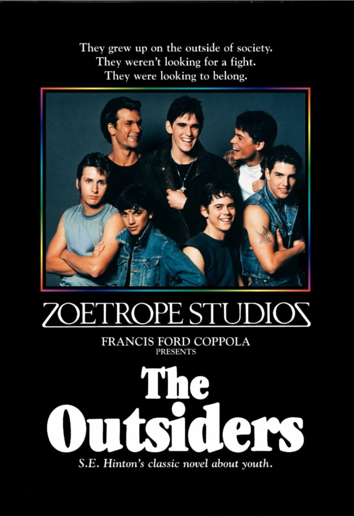 book report over the outsiders
