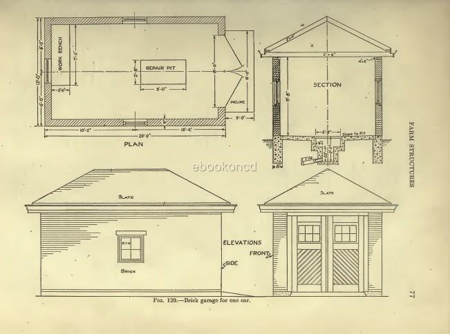 Barn poultry farm building plans dairy house stables cd for Dairy barn plans