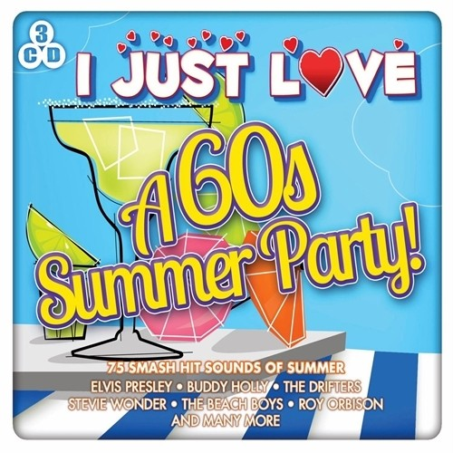 I-JUST-LOVE-A-60s-SUMMER-PARTY-75-SMASH-HIT-SOUNDS-OF-SUMMER-NEW-SEALED-3CD