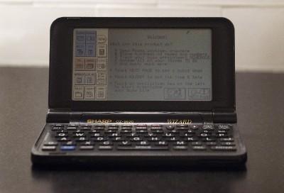 sharp wizard electronic organizer manual