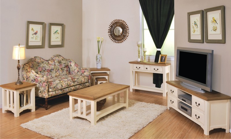 Oak And Cream Coffee Table Images Table Design Ideas