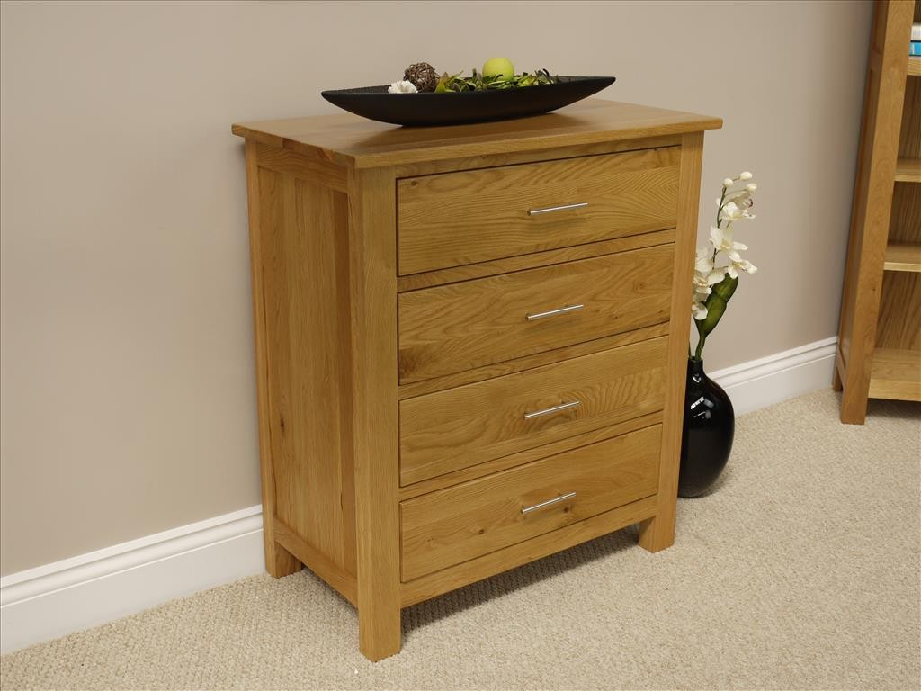 #6C471D SOLID OAKLAND CHUNKY OAK CHEST OF DRAWERS 4 DEEP DRAWERS SOLID WOOD  with 1024x768 px of Best Chest Of Drawers Solid Wood 7681024 image @ avoidforclosure.info