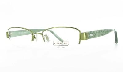 Coach Rimless Eyeglass Frames : COACH LAVERNE Semi Rimless EYEGLASS FRAMES Designer Womens ...