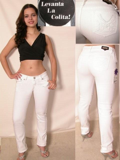 Silver diva levanta cola white skinny jeans ebay - Diva pants ebay ...