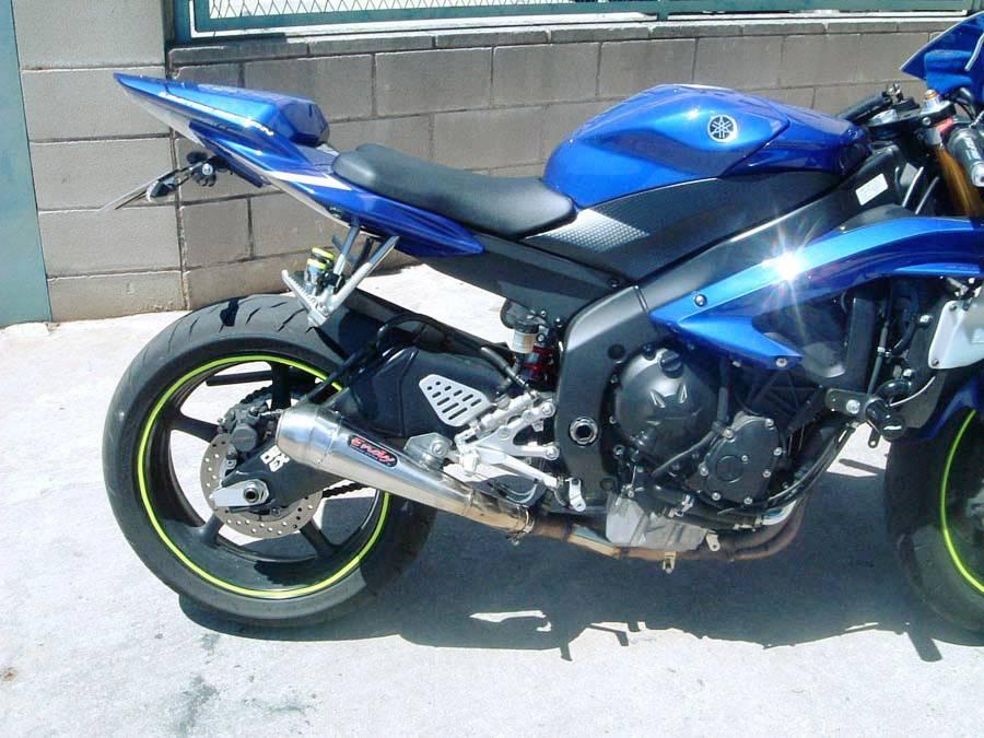 yamaha yzf600 r6 2006 2012 endy exhaust muffler pro gp