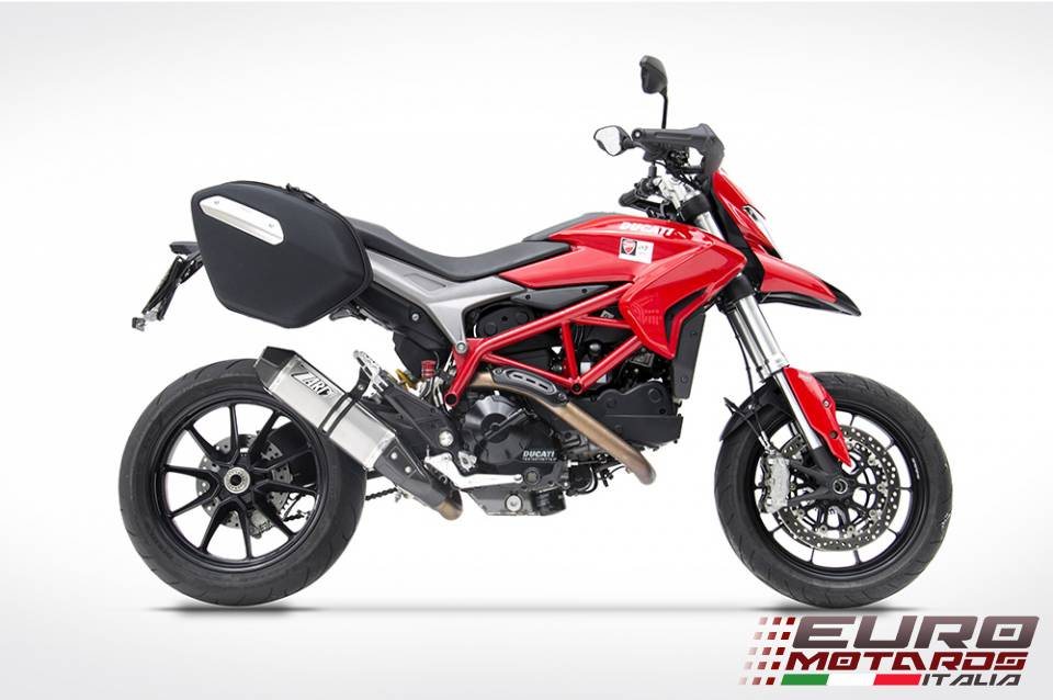 ducati hypermotard hyperstrada 821 2013 2015 zard penta exhaust slipon ebay. Black Bedroom Furniture Sets. Home Design Ideas