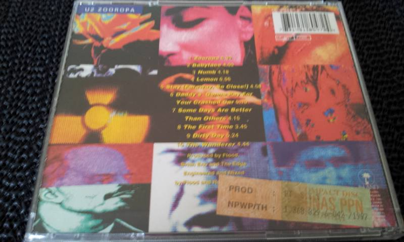 U2-Zooropa-1993-Island-records-CD-pop-rock