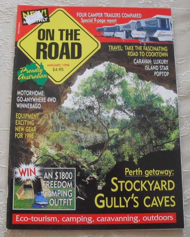 ON-THE-ROAD-Magazine-January-1998-CAMPING-4WD-CARAVANNING-OUTDOORS