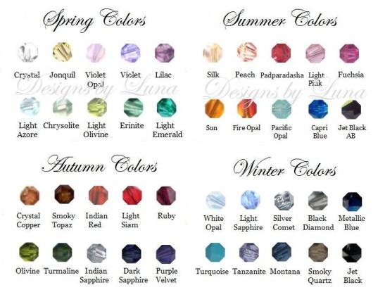 Birthstone Colors. Express yourself with color!