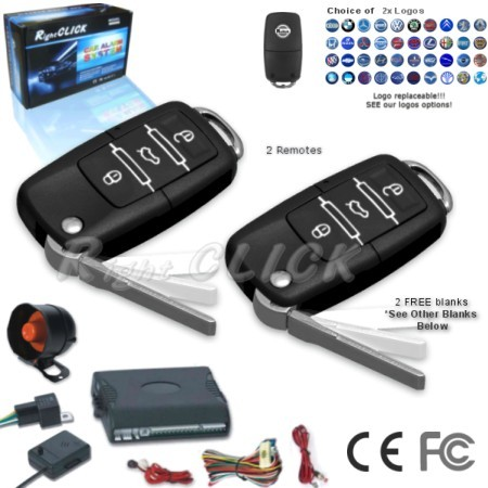Car Alarm & Immobiliser central lock System