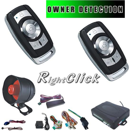 Car Alarm System Auto Lock/Unlock Owner Detection