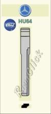 HU64 Key Blank - Mercedes Ford