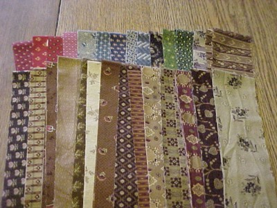 Jelly Roll Civil War Quilt Fabric Jo Morton, Judie Rothermel, Pre