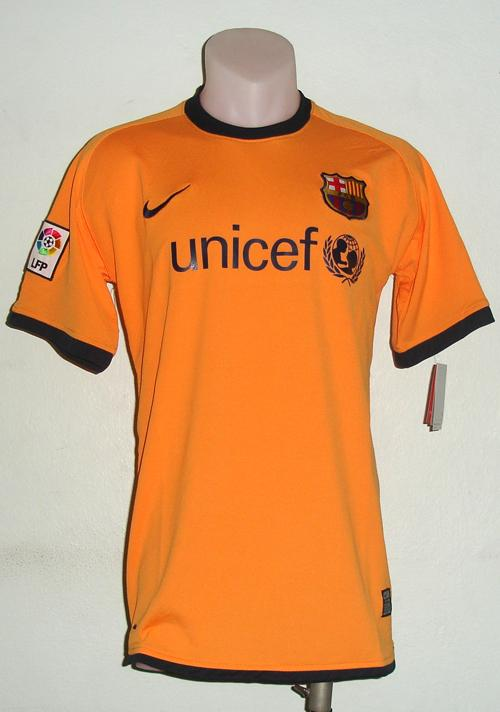 FOOTBALL SHIRT BARCELONA AWAY NEW SEASON 09-10 (M & xl )
