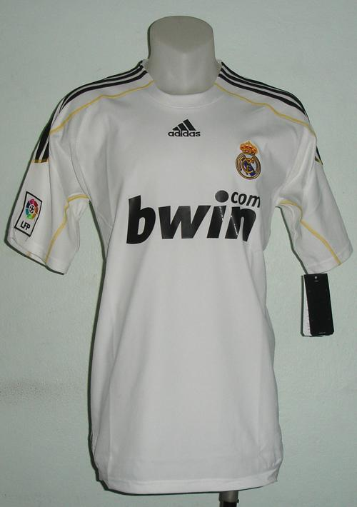 FOOTBALL SHIRTREAL MADRID HOME NEW SEASON 09-10 (M & xl )