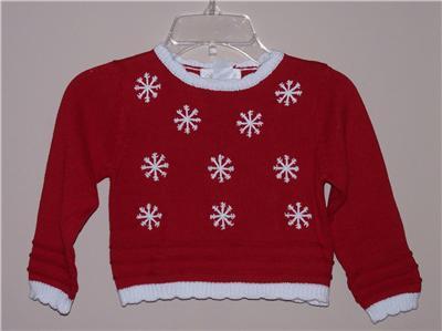 Girls Sweater Size 2T 3 Strasburg Christmas Sweater | eBay