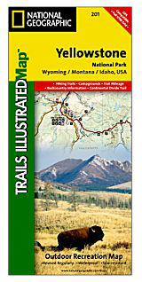 Yellowstone Trails Illustrated Map