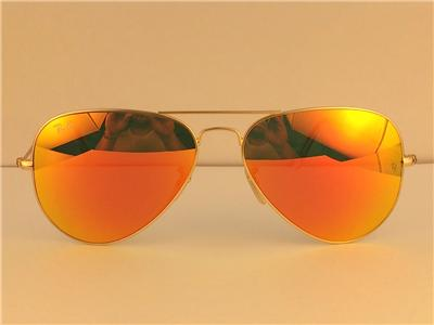 58mm ray ban aviator  ray ban aviator sunglasses