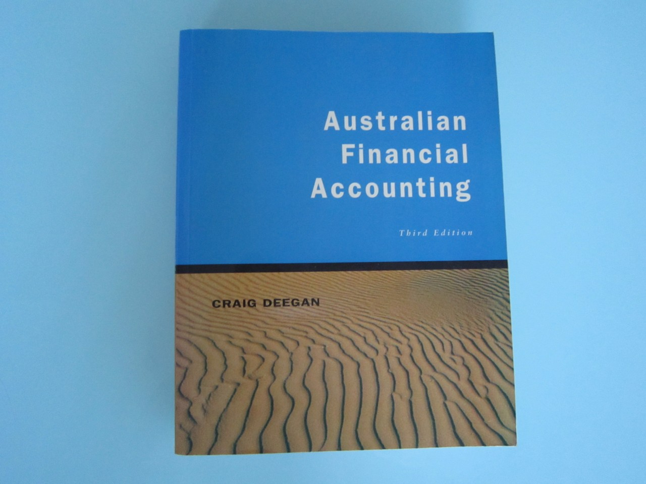 australian financial accounting third edition graig deegan. Black Bedroom Furniture Sets. Home Design Ideas