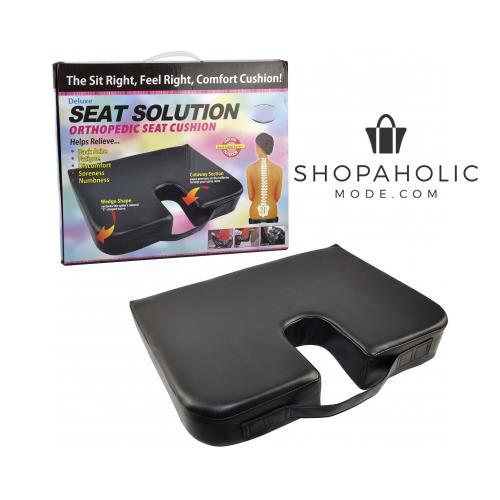 Deluxe Orthopedic Cushion Pain Relieving Posture Seat Solution