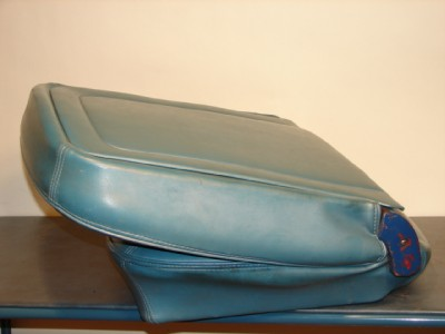 1966 Ford Mustang Bucket Seats in Brittany Blue Color, Drivers seat