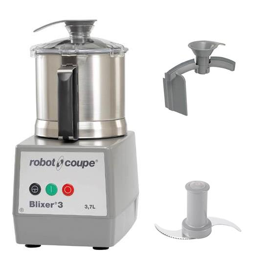 Industrial Kitchen Blender: Robot Coupe Blixer 3, 3.7L, Blender / Mixer, Commercial