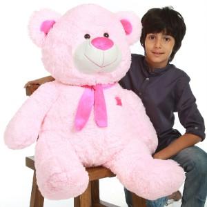 NEW CUDDLY Plush PINK TEDDY BEAR 36 stuffed animal