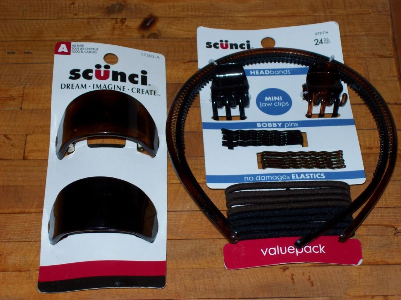 Scunci-Conair-Hair-headband-clip-claw-pin-6DiffCombos