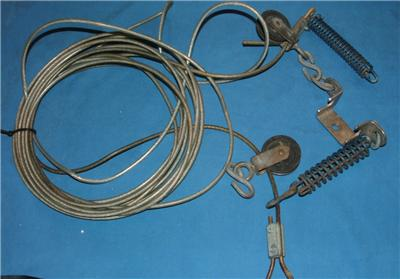 Vintage outboard motor steering cable hardware ebay for Outboard motor steering cable replacement