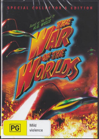 FREE-LOCAL-POSTTHE-WAR-OF-THE-WORLDS-H-G-WELLS-NEW-R4-DVD-FREE-LOCAL-POST