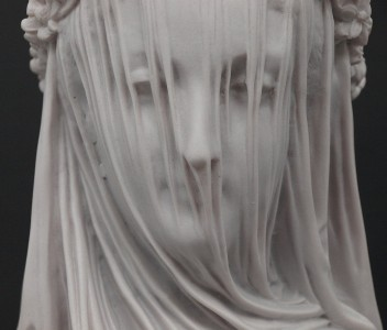 Marble Sculpture by Sculptured Arts Studio / Veiled Lady
