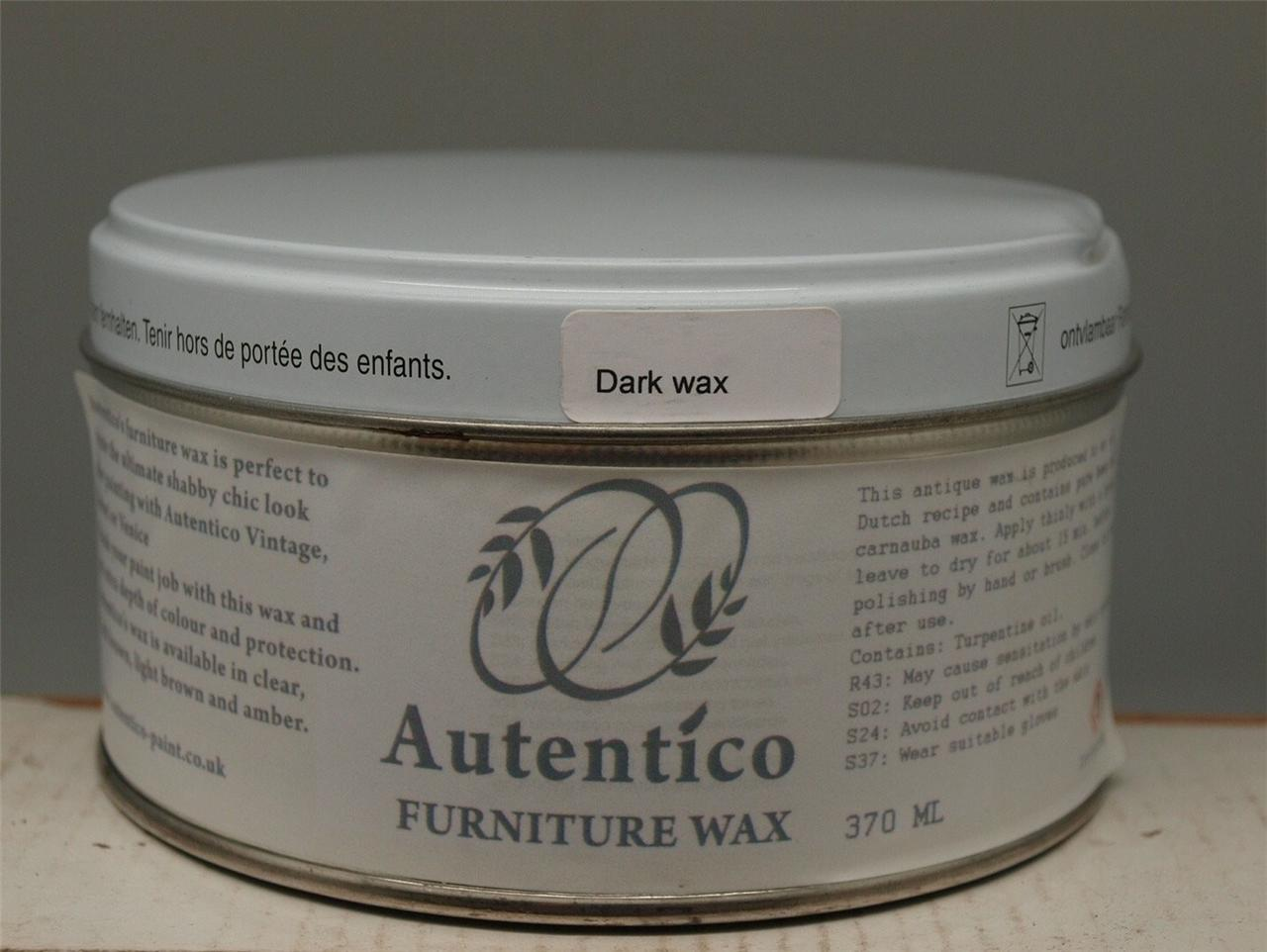 Autentico furniture wax for use with chalk paint clear for Furniture wax