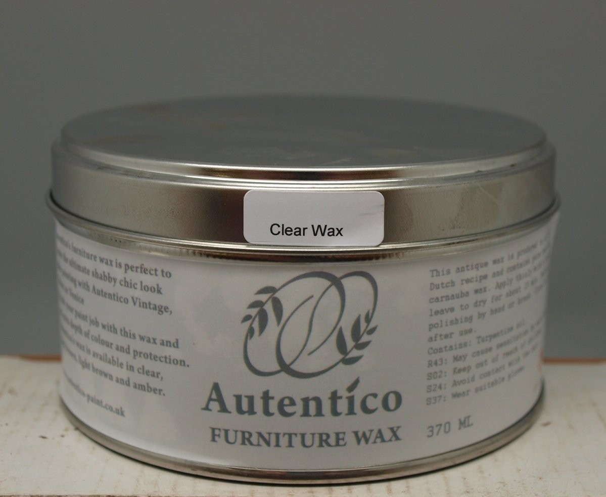 Autentico Furniture Wax For Use With Chalk Paint Clear Or Dark Ebay