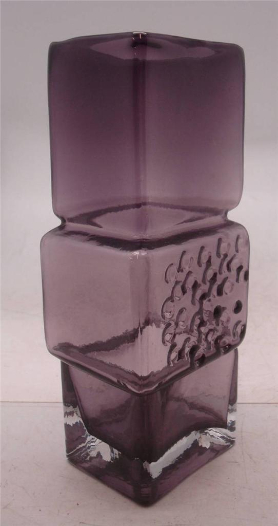 Whitefriars-Drunken-Bricklayer-Art-Glass-Vase-Choice-of-5-Colours
