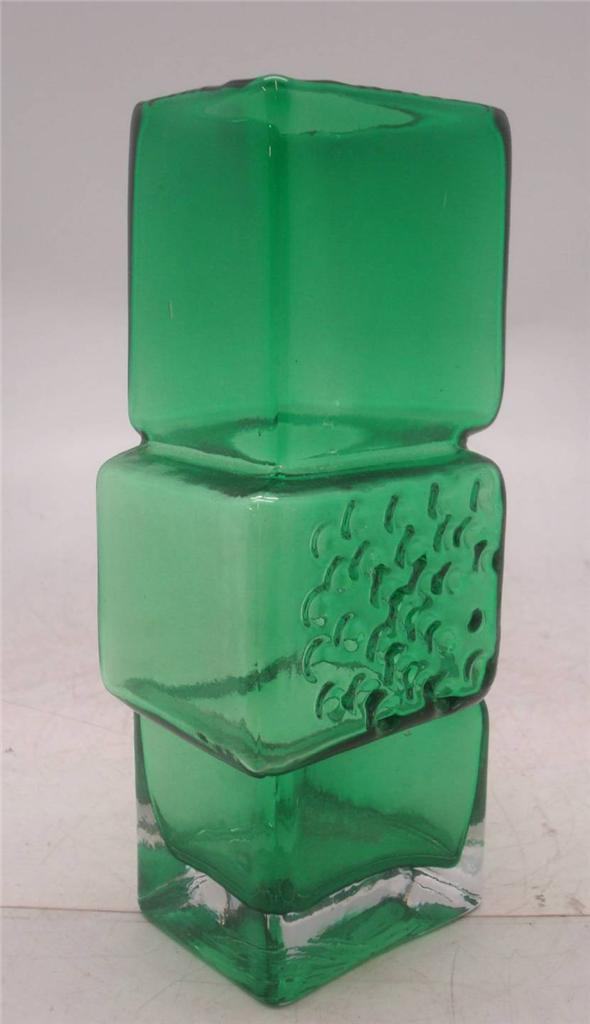 Whitefriars-Drunken-Bricklayer-Art-Glass-Vase-Choice-of-5-Colours